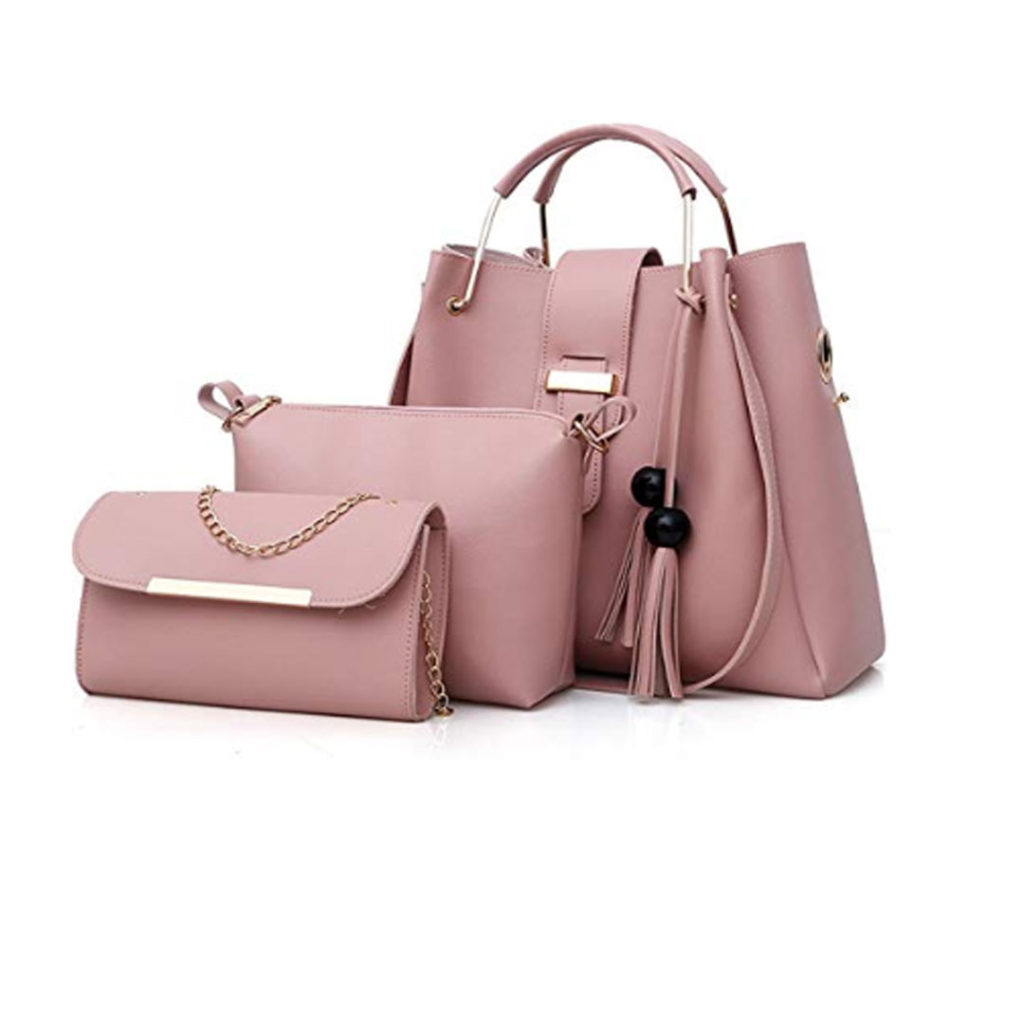e5c98cf1e Womens Purses and Handbags 3 Pieces Tassel Tote Bag Set by Export ...